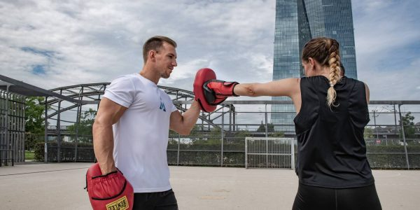 Fitness Boxen als Teil des Personal Training (Frankfurt am Main)